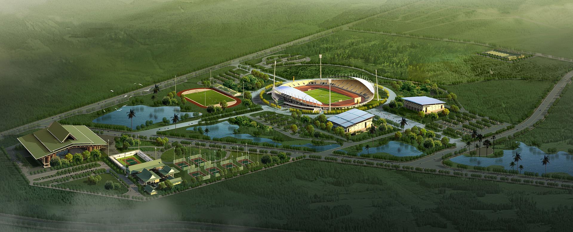 老挝万象国家体育公园